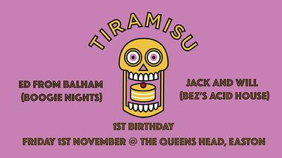 Tiramisu at Queens Head Easton in Bristol