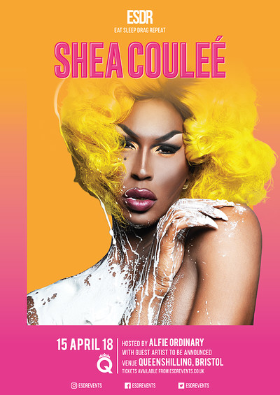 ESDR presents Shea Coulee (Bristol 14+) at Queenshilling in Bristol