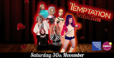 Temptation Seduction - (WAD Fundraiser) at Queenshilling in Bristol