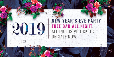 Racks New Year's Eve Party 2018 at Racks Bar & Kitchen in Bristol