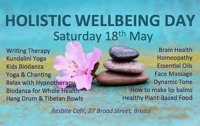 Holistic well-being day at Resbite Cafe in Bristol