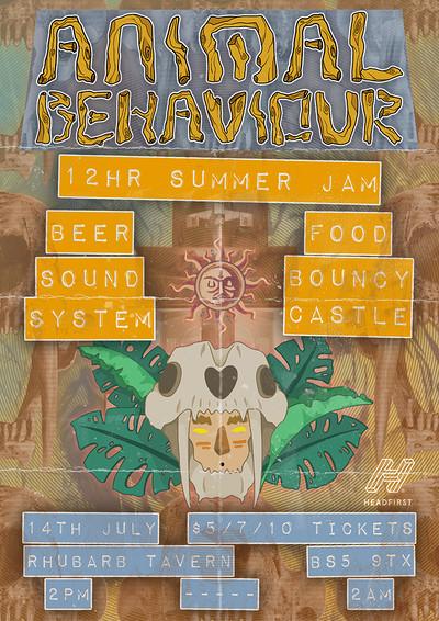 Animal Behaviour 12HR Summer Jam! at Rhubarb Tavern in Bristol