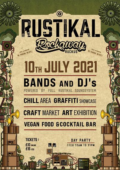 Rustikal Rockaway Ruckus at Rockaway Park in Bristol