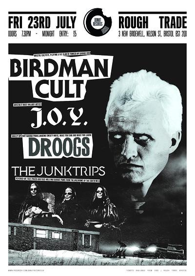 Birdman Cult / J.O.Y./ Droogs /Junktrips at Rough Trade Bristol in Bristol