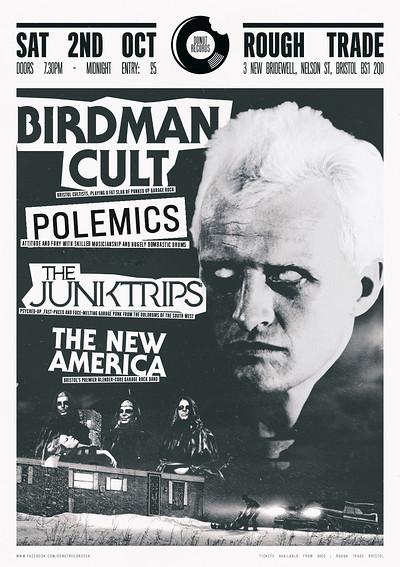 Birdman Cult / Polemics / Junktrips / New America at Rough Trade Bristol in Bristol