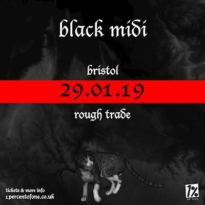 Black Midi + Jerskin Fendrix at Rough Trade Bristol in Bristol