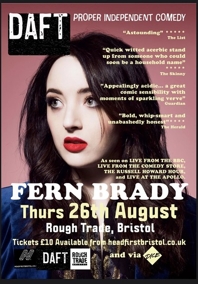 DAFT#2: Fern Brady  at Rough Trade Bristol in Bristol