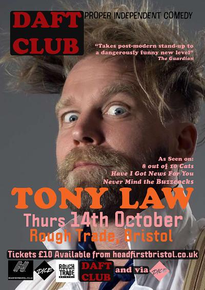 DAFT#3: TONY LAW at Rough Trade Bristol in Bristol