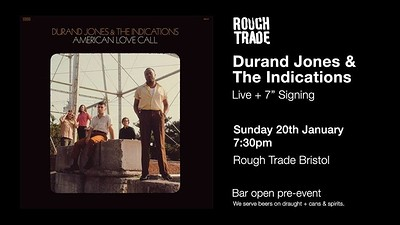 Durand Jones & The Indications | Live & Signing at Rough Trade Bristol in Bristol