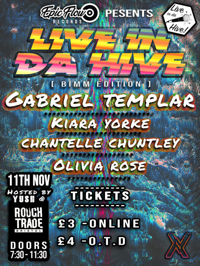 Epic Flow Records Presents: Live in da Hve  at Rough Trade Bristol in Bristol
