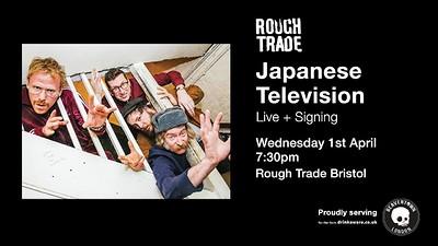 Japanese Television at Rough Trade Bristol in Bristol
