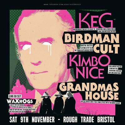 KEG / Birdman Cult / Kimbo Nice / Grandmas House at Rough Trade Bristol in Bristol