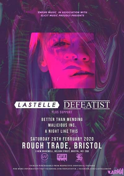 Lastelle + Defeatist at Rough Trade Bristol in Bristol