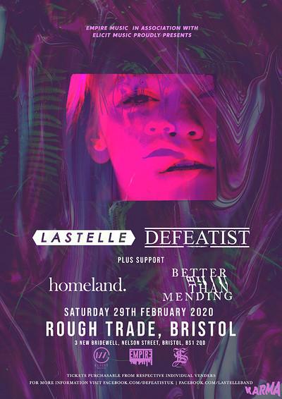 Lastelle X Defeatist at Rough Trade Bristol in Bristol