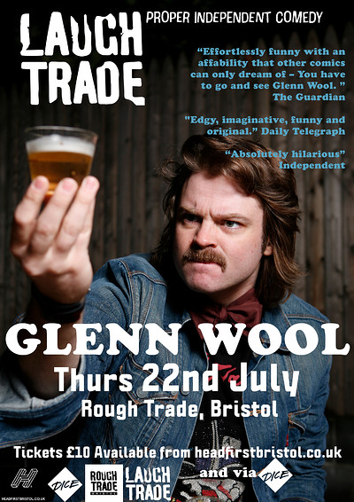 LaughTrade#1: GLENN WOOL at Rough Trade Bristol in Bristol
