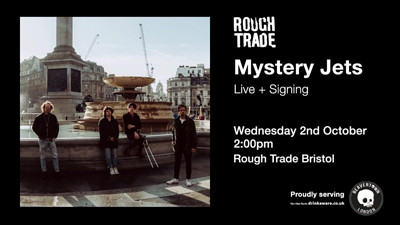 Mystery Jets at Rough Trade Bristol in Bristol