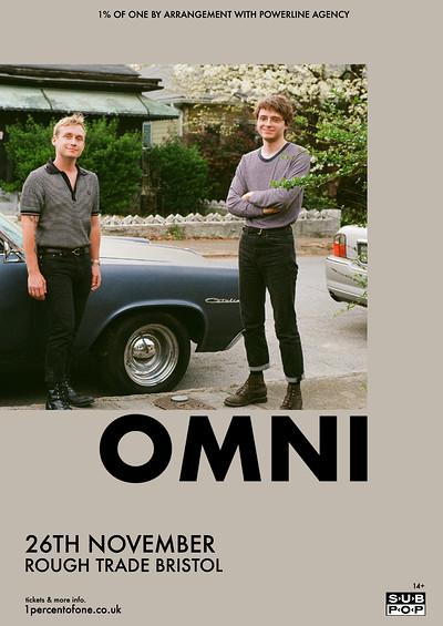 Omni at Rough Trade Bristol in Bristol
