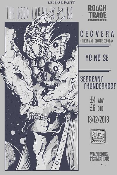 SBR & WP: Cegvera Album Launch  at Rough Trade Bristol in Bristol