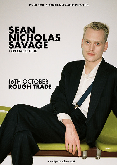 Sean Nicholas Savage at Rough Trade Bristol in Bristol
