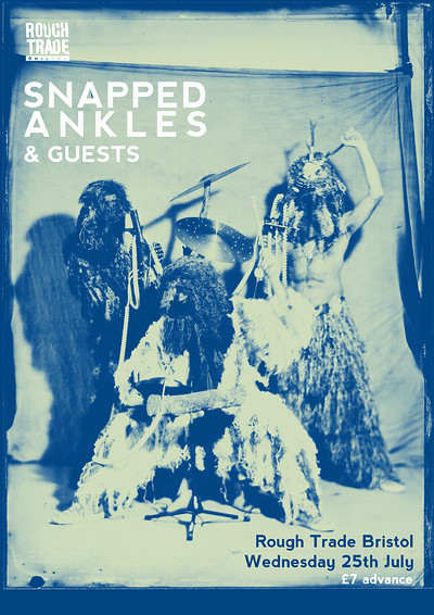 Snapped Ankles & Guests at Rough Trade Bristol in Bristol