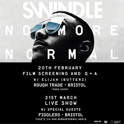 Swindle - 'No More Normal'  at Rough Trade Bristol in Bristol