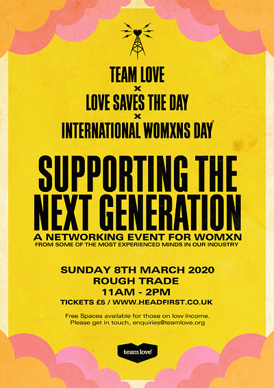 Team Love X LSTD // Supporting the Next Generation at Rough Trade Bristol in Bristol