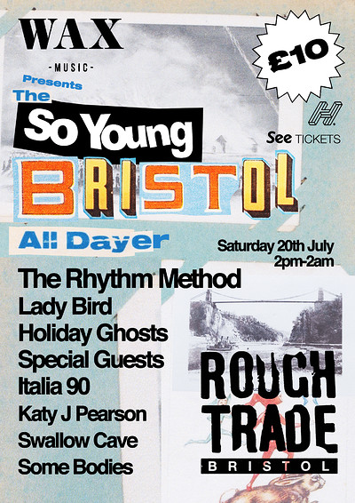 The So Young Bristol All-Dayer at Rough Trade Bristol in Bristol