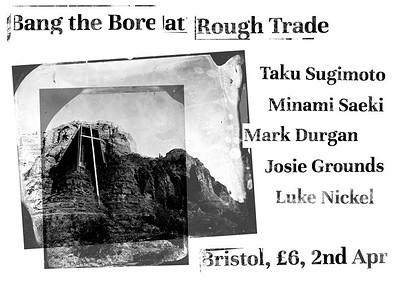Taku Sugimoto, Minami Saeki, Mark Durgan at Rough Trade in Bristol