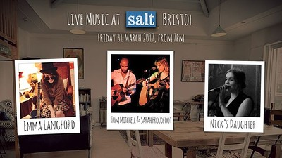 Tom Mitchell & Sarah Proudfoot / Emma Langford at Salt Café in Bristol