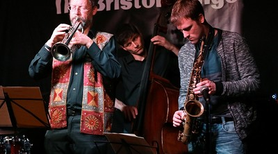 Bristol European Jazz Ensemble at Salt Cafe in Bristol