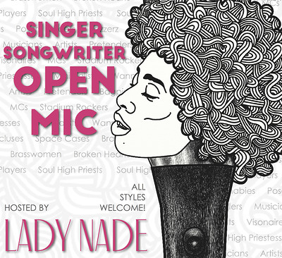 Songwriters' Open Mic hosted by Lady Nade at Salt Cafe in Bristol