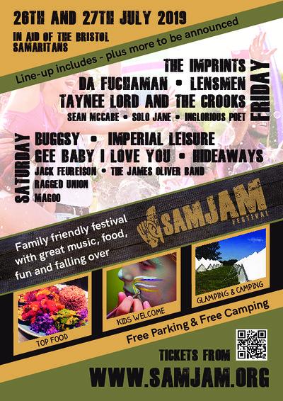 Samjam festival at Samjam festival in Bristol