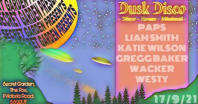 Dusk Disco Launch Night at Secret garden presents  in Bristol