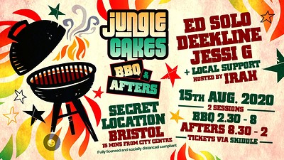 Jungle Cakes BBQ & Afters at Secret Location in Bristol