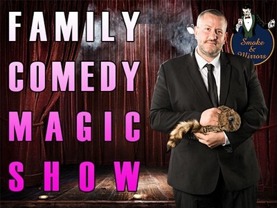 The House Magicians Family Comedy & Magic Show at Smoke & Mirrors Theatre Bar in Bristol