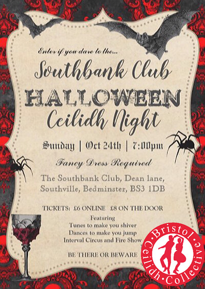 Halloween Ceilidh Night at SouthBank in Bristol
