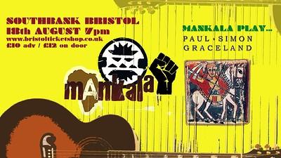 Mankala Play Graceland by Paul Simon at SouthBank in Bristol