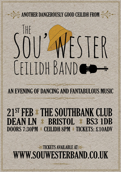 Southbank Ceilidh with the Sou'Westers at SouthBank in Bristol