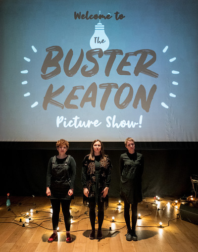 Haiku Salut present The Buster Keaton Picture Show at St George's Bristol in Bristol