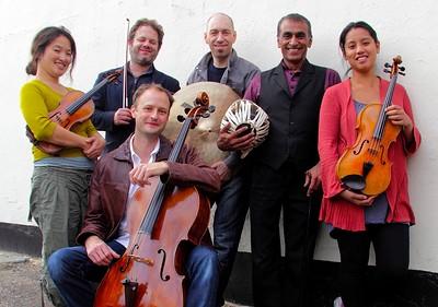 Kuljit Bhamra and Davide Giovannini at St George's Bristol in Bristol