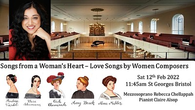 Songs from a Woman's Heart at St George's Bristol in Bristol