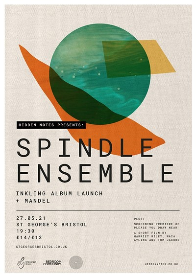 Spindle Ensemble | Inkling album launch at St George's Bristol in Bristol