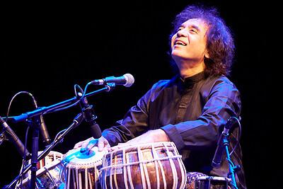 ZAKIR HUSSAIN LIVE IN BRISTOL at St George's Bristol in Bristol