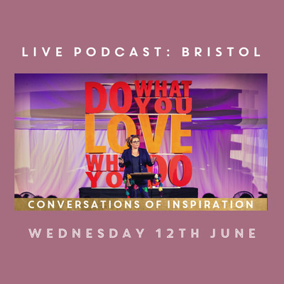 Conversations of Inspiration LIVE podcast  at St George's in Bristol