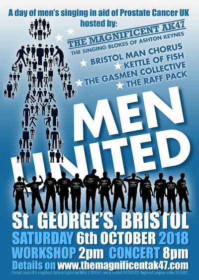 Men United at St George's in Bristol