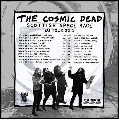 The Cosmic Dead  at St James wine vaults  in Bristol
