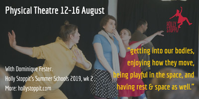 Physical Theatre Summer School at St Michael's Parish Hall in Bristol
