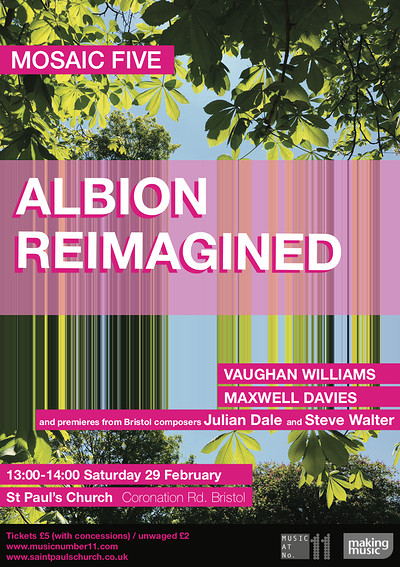 Albion Reimagined at St Paul's Church, Coronation Road, BS3 1DG in Bristol