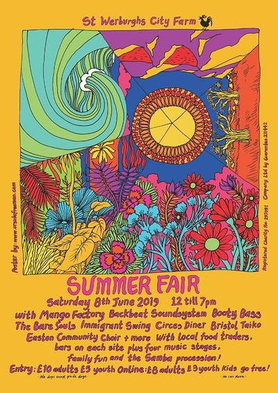 Farm Summer Fair 2019 at St Werburghs City Farm in Bristol