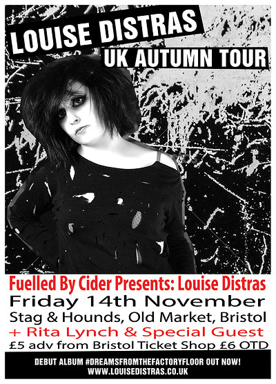 Louise Distras + Rita Lynch at Stag And Hounds in Bristol